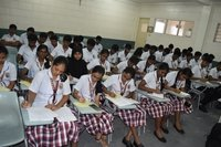 uphsd medical students from India writing examination