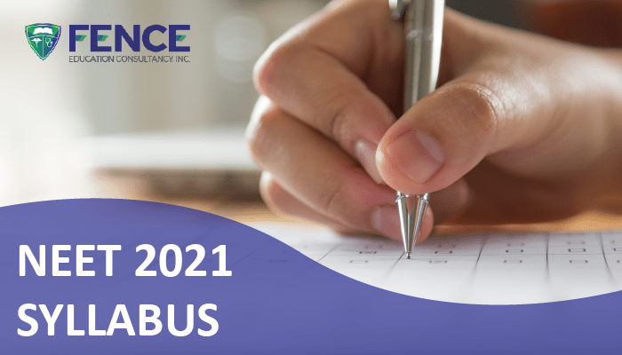 NEET 2021 Examination – Syllabus